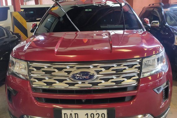 HOT!! Red 2018 Ford Explorer for sale in good condition