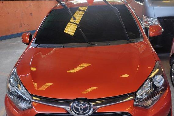 HOT!! Selling Orange 2018 Toyota Wigo at cheap price