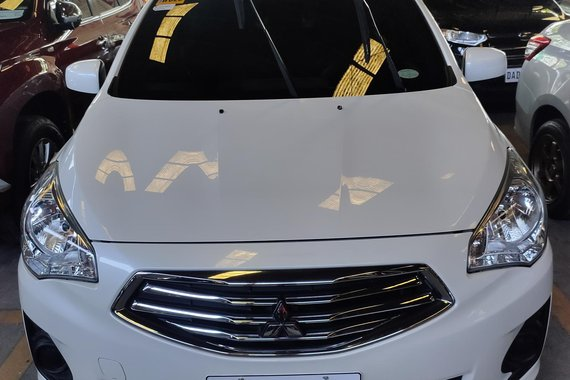 HOT!! Pearlwhite 2020 Mitsubishi Mirage for sale at cheap price