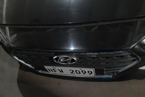 Black 2019 Hyundai Accent   for sale