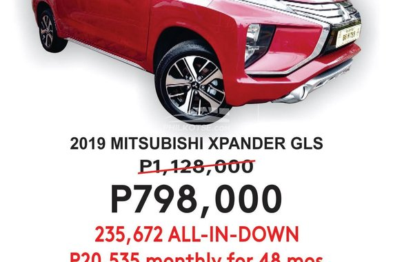 2019 MITSUBISHI XPANDER GLS
