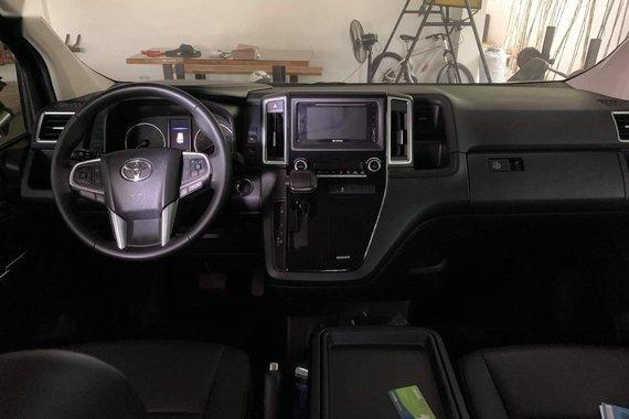 Selling Black Toyota Super Grandia 2019 in Quezon