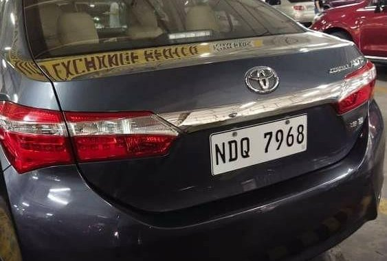 Selling Toyota Corolla Altis 2016 in Dasmariñas