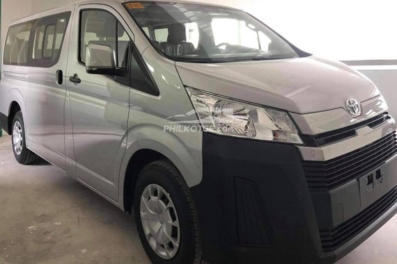 LOW DOWNPAYMENT!NEW TOYOTA HIACE COMMUTER DELUXE 2021