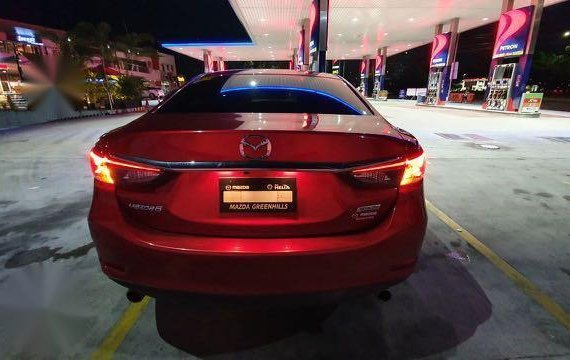 Red Mazda 6 2016 for sale in Automatic