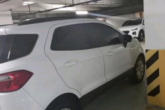 Pearl White Ford Ecosport 2014 for sale in Cainta