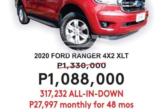 2020 FORD RANGER 4X2 XLT A/T
