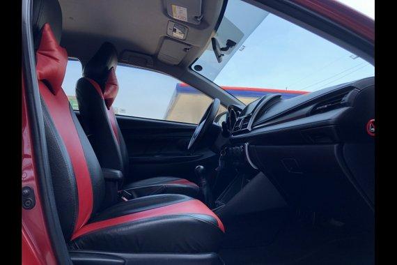 Red Toyota Vios 2017 Sedan for sale