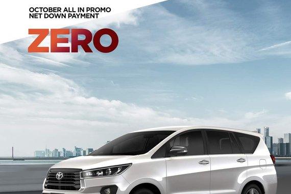 Toyota Innova @ ZERO DP!!!