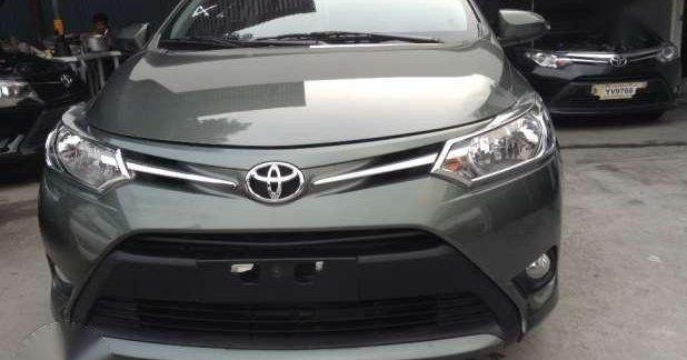 2016 Toyota Vios 1.3 E Automatic Alumina Jade Green 146127