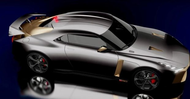Nissan Gt R50 Premiered To Celebrate 50th Anniversary Of