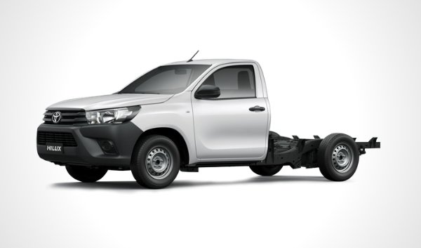 Toyota hilux cab & chassis