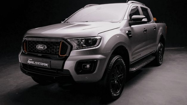 Ford Ranger front view