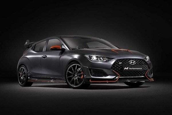 Hyundai Veloster N Performance Concept introduced in 2019 SEMA show