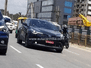 Toyota C-HR 2018 with no camo shows its badges during test mule on Indian roads