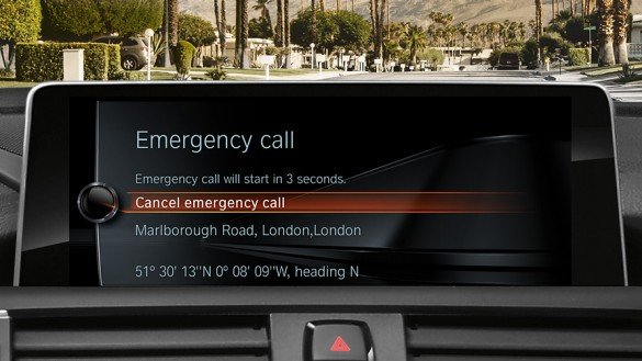 The BMW Assist emergency communication system