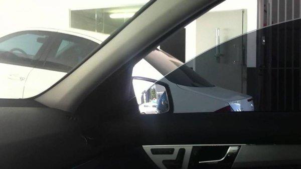 Open car windows