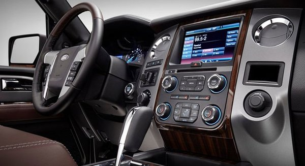 2017 Ford Expedition's interior