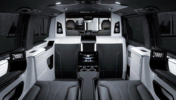 The Brabus V-Class cabin