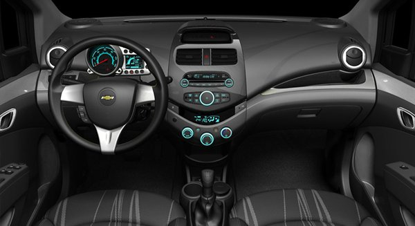 The Chevrolet Spark interior