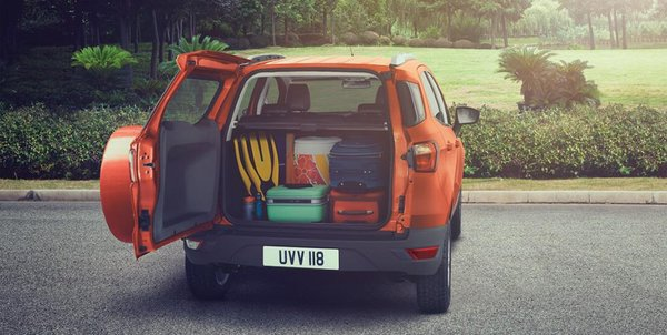 Ford EcoSport trunk - Accessories of 2017 EcoSport Philippines