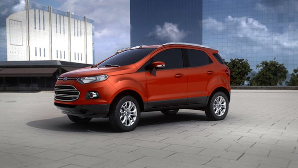 Ford EcoSport 2017 overall look review