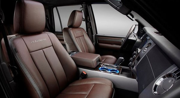 2017 Ford Expedition's cabin