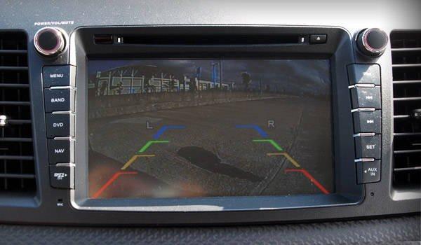 Mitsubishi Lancer EX touchscreen