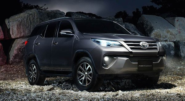 The new Toyota Fortuner