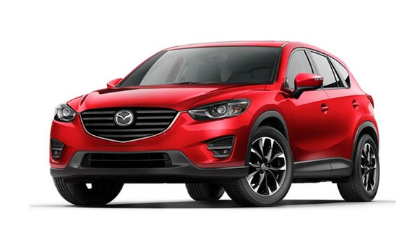 2017 Mazda CX-5's exterior
