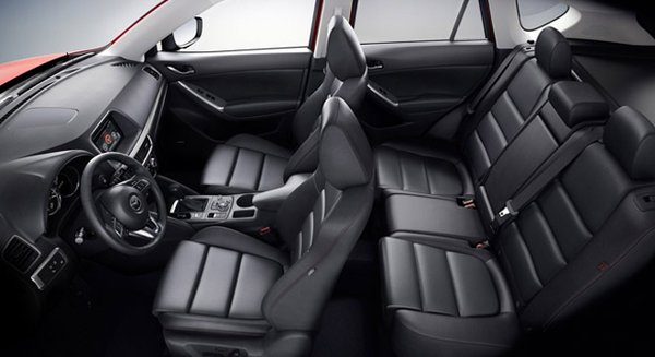 2017 Mazda CX-5's seats