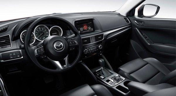 2017 Mazda CX-5's cabin