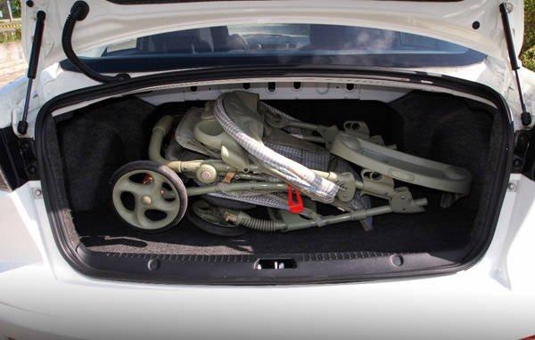 Mitsubishi Lancer EX trunk