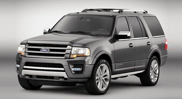 2017 Ford Expedition's exterior
