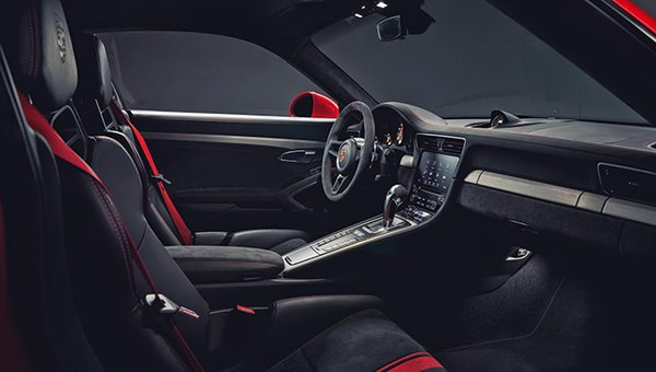 the new Porsche 911 GT3 seats