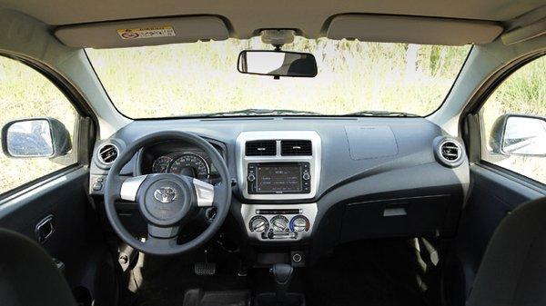 Toyota Wigo 1.0 G AT interior