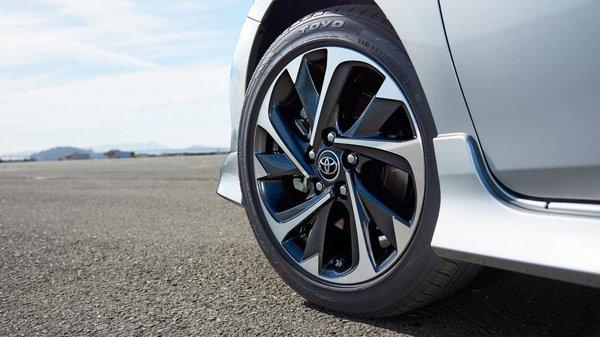 Corolla iM's wheels