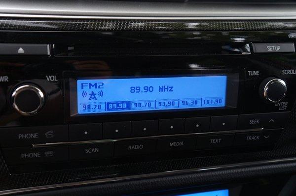 Toyota Corolla Altis 2.0 V audio system