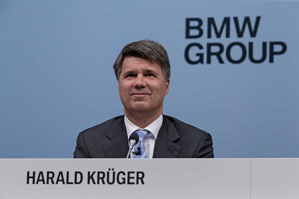 BMW CEO Krueger