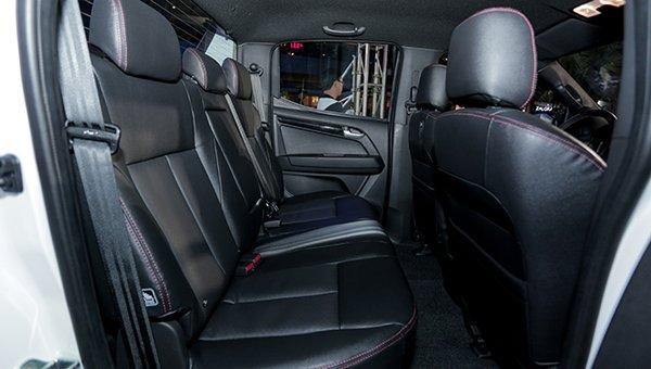 Isuzu D-Max's seats