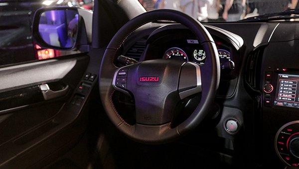 Isuzu D-Max's interior