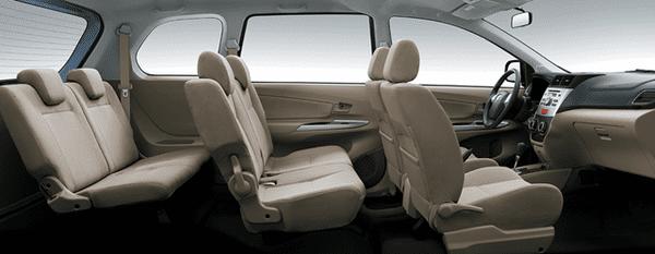 Toyota Avanza 2017's cabin