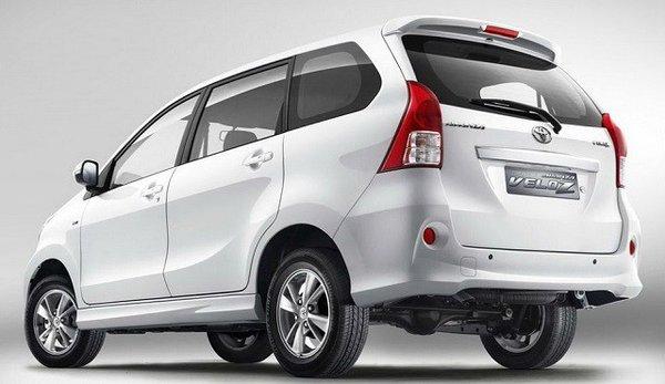 Toyota Avanza 2017's exterior