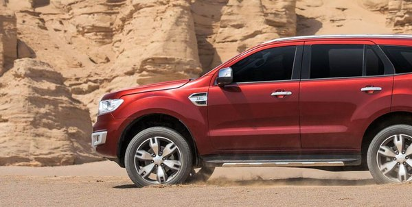 Ford Everest 2016 can withstand harsh terrains