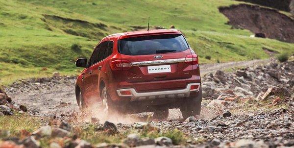 Ford Everest 2016 runs well on tough terrains