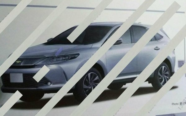 Toyota Harrier photo