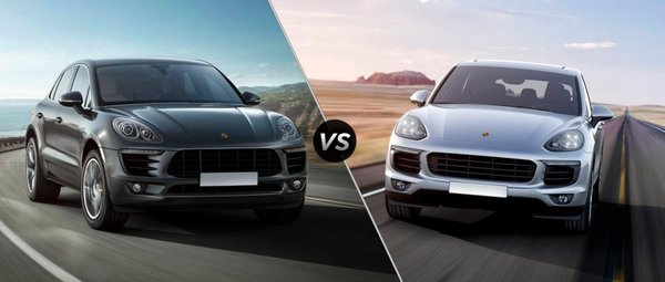 The Macan and the Cayenne