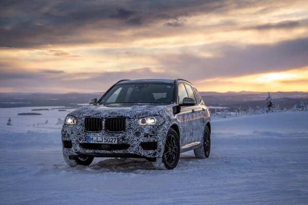 BMW X3 M40i front view
