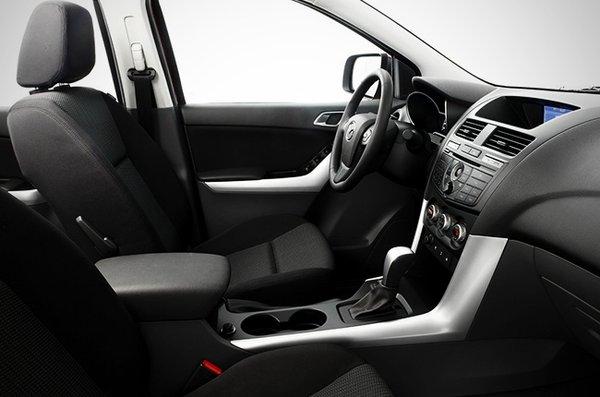 Mazda BT-50 driving cabin