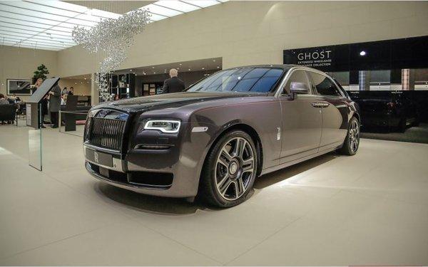 Rolls-Royce's Diamond Stardust in Geneva Motor Show
